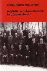 """Anglistik und Amerikanistik im """"Dritten Reich"""""""