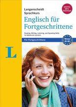 Langenscheidt Sprachkurs Englisch für Fortgeschrittene - Sprachkurs mit 4 Büchern und 2 MP3-CDs: Reading, Writing, Listening, and Speaking Skills for Advanced Learners