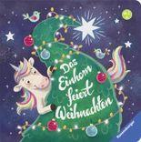 Das Einhorn feiert Weihnachten