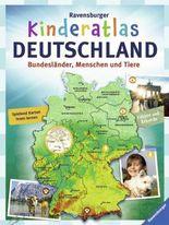 Ravensburger Kinderatlas Deutschlan - Bundesländer, Menschen und Tiere