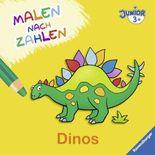 Malen nach Zahlen junior: Dinos