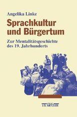 Sprachkultur und Bürgertum