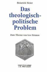 Das theologisch-politische Problem