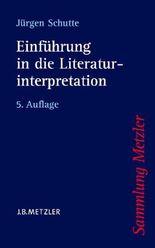 Einführung in die Literaturinterpretation