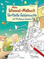 Mein Wimmel-Malbuch – Verflixte Fehlersuche mit Professor Knacks, VE 5 Expl.