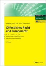 Öffentliches Recht und Europarecht
