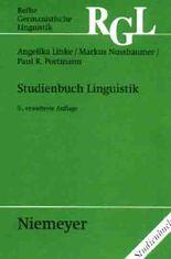 Studienbuch Linguistik mit Studien-CD Linguistik / Studienbuch Linguistik