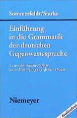 Einführung in die Grammatik der deutschen Gegenwartssprache