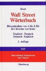 Wall Street Wörterbuch, Englisch-Deutsch/Deutsch-Englisch