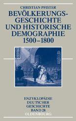 Bevölkerungsgeschichte und historische Demographie 1500-1800