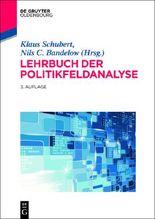Lehrbuch der Politikfeldanalyse 2.0