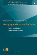 Managing Risks in Supply Chains