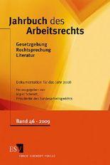 Jahrbuch des Arbeitsrechts. Gesetzgebung - Rechtsprechung - Literatur. Nachschlagewerk für Wissenschaft und Praxis / Jahrbuch des Arbeitsrechts