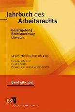 Jahrbuch des Arbeitsrechts