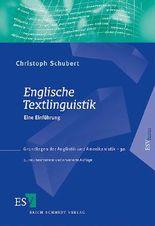 Englische Textlinguistik