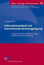 Unternehmenskauf und internationale Rechnungslegung