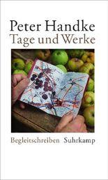 Tage und Werke - Begleitschreiben zu Büchern und Autoren 2008-2014
