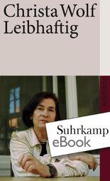 Leibhaftig (suhrkamp taschenbuch)