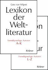 Lexikon der Weltliteratur - Fremdsprachige Autoren
