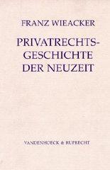 Privatrechtsgeschichte Der Neuzeit