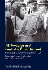 Ns-Prozesse Und Deutsche Offentlichkeit