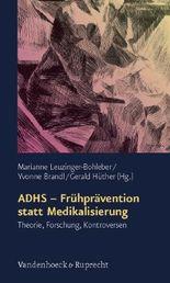 Adhs - Fruhpravention Statt Medikalisierung