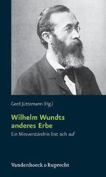 Wilhelm Wundts Anderes Erbe