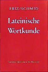 Lateinische Wortkunde