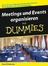 Meeting Und Events Organisieren Fur Dummies