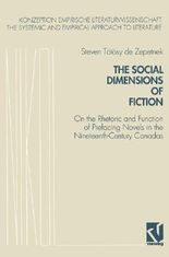 The Social Dimensions of Fiction