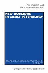 New Horizons in Media Psychology