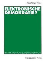 Elektronische Demokratie?
