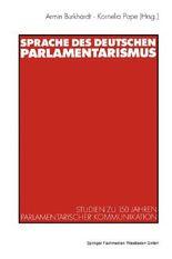 Die Sprache des deutschen Parlamentarismus