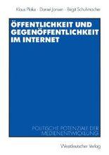 Öffentlichkeit und Gegenöffentlichkeit im Internet