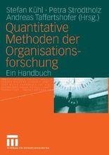 Quantitative Methoden der Organisationsforschung