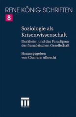 Soziologie Als Krisenwissenschaft