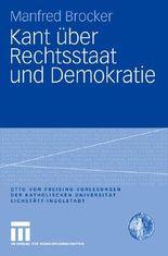 Kant über Rechtsstaat und Demokratie