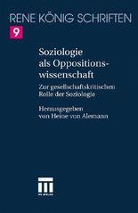 Soziologie Als Oppositionswissenschaft