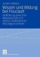 Wissen und Bildung bei Foucault