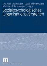 Sozialpsychologisches Organisationsverstehen