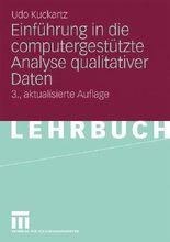 Einführung in die computergestützte Analyse qualitativer Daten