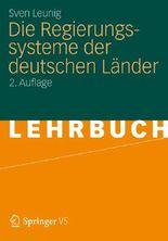Die Regierungssysteme Der Deutschen Lander