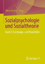 Sozialpsychologie und Sozialtheorie. Bd.2
