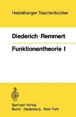 Funktionentheorie I (Heidelberger Taschenbücher) (German Edition)