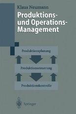 Produktions Und Operations-Management