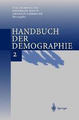 Handbuch Der Demographie 2