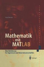 Mathematik Mit Matlab