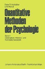 Quantitative Methoden der Psychologie I