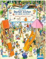 Viele bunte Sachen suchen mit Jakob und Conni: Wimmel-Spielplatz-Spaß