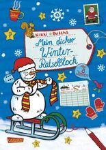 Mein dicker Winter-Rätselblock
